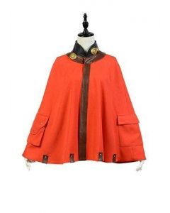 Kabaneri of the Iron Fortress Mumei Cape Cloak Cosplay Costume
