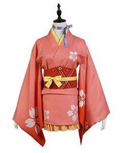 Kabaneri of the Iron Fortress Mumei Yukata Kimono Cosplay Costume