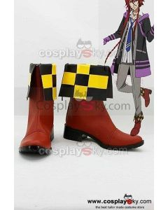 Kamigami no Asobi: Ludere deorum Loki Laevatein Cosplay Boots Shoes