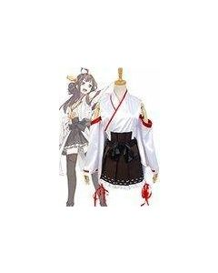Kantai Collection KanColle Japanese Battleship Kong  Cosplay Costume