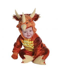 Kids Infant/Toddler Rust Triceratops Dinosaur T-Rex Cosplay Costume