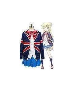 Kiniro Mosaic Karen Kujo Cosplay Costume