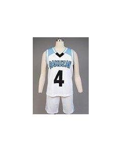 Kuroko's Basketball Akashi Seijyuurou RAKUZAN Costume
