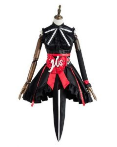 Love Live Lovelive Initial D School Idol Stage Maki Nishikino Dress Cosplay Costume