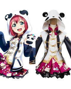 LoveLive Aqours China Dress Ver Ruby Kurosawa SSR Cosplay Costume