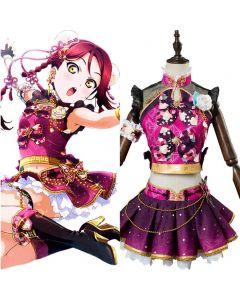 LoveLive Aqours China Dress Ver Sakurauchi Riko Cosplay Costume