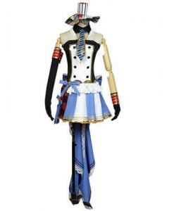 LoveLive! Eli Ayase Cafe Maid Uniform Cosplay Costume