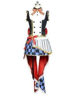 LoveLive! Honoka Kousaka Cafe Maid Uniform Cosplay Costume