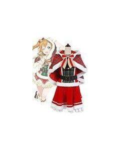 LoveLive! Honoka Kousaka Christmas Uniform Cosplay Costume
