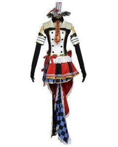 LoveLive! Maki Nishikino Cafe Maid Uniform Cosplay Costume