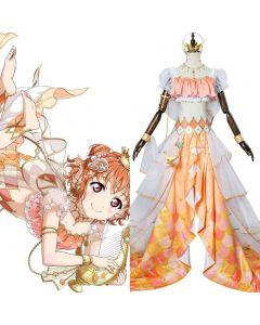 LoveLive Mermaid Festa Takami Chika Cosplay Costume Awakening Dress