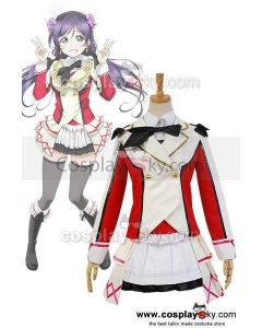 LoveLive! School Idol Project Nozomi Tojo Uniform Dress Costume Cosplay