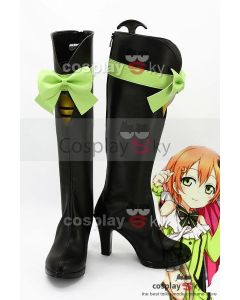 LoveLive! Season 2 KiRa-KiRa-Sensation! Rin Hoshizora Boots Cosplay Shoes