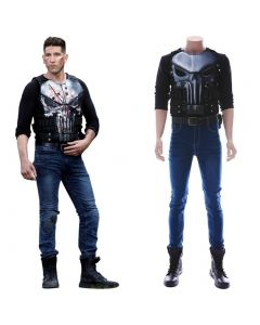 Marvel¡®s The Punisher Season 2 Frank Castle Outfit Cosplay Costume