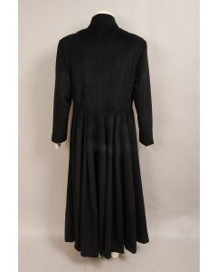 Matrix Neo Trench Coat Costume Black Wool