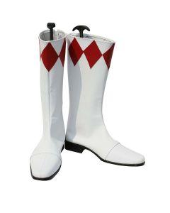 Mighty Morphin Power Rangers Geki Tyranno Ranger Cosplay Boots Shoes