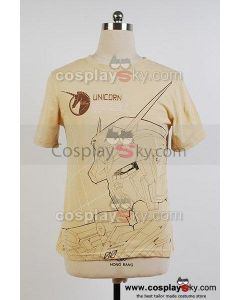 Mobile Suit Gundam UC Shirt Cotton T-shirt