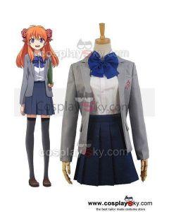 Monthly Girls' Nozaki-kun Chiyo Sakura Uniform Dress Cosplay Costume