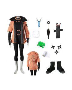 Naruto Uzumaki Naruto Rikudousennin Modo Cosplay Costume