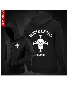 One Piece Edward Newgate Black Coat Costume (Free Ship)