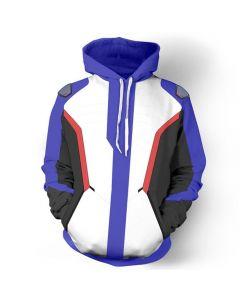 Overwatch OW Soldier 76 Bio Jack Morrison Jacket Coat Cosplay Costume