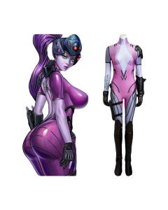 Overwatch OW Widowmaker Jumpsuit Whole Set Cosplay Costume