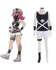 Pokemon Sun and Moon Team Skull Grunts Cosplay Costume Female