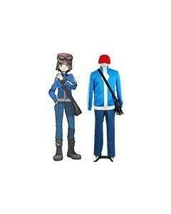 Pokemon X and Y Calem Cosplay Costume