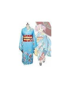 Puella Magi Madoka Magica Kaname Madoka Bayadere Kimono Cosplay Costume