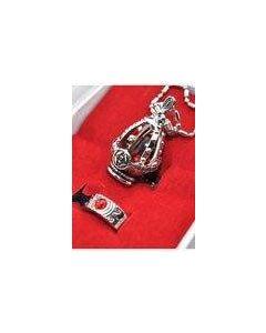 Puella Magi Madoka Magica Soul Gem Pendant Necklace Ring