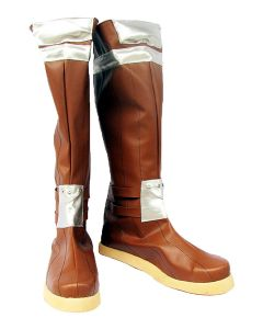 Ragnarok Online Archer Cosplay Boots Shoes Brown