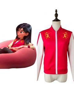Ralph Breaks the Internet Mulan Coat Cosplay Costume