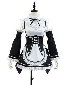 Re:Zero Life in a Different World from Zero Ram Outfit Cosplay Costume