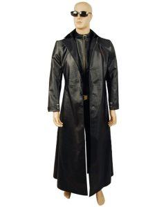 Resident Evil 5 Albert Wesker Coat Jacket Costume Cosplay