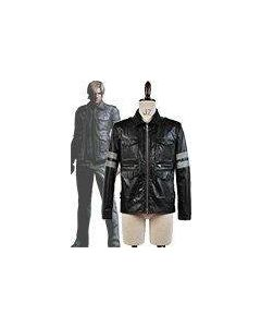 Resident Evil Leon Scott Kennedy Leather Jacket Costume Cosplay