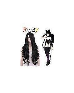 RWBY Black Trailer Blake Belladonna Cosplay Wig
