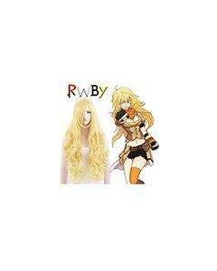 RWBY Yellow Trailer Yang Xiao Long Cosplay Wig