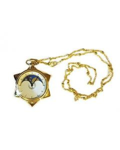 Sailor Moon Sweater chain Crystal Pocket Watch Cosplay Accessories