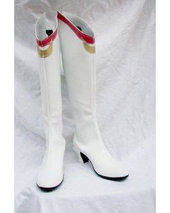 Sailor Moon Usagi Tsukino Cosplay Boots Shoes White