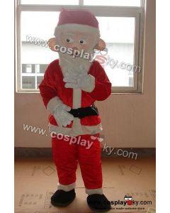 Santa Claus Mascot Costume Adult Size