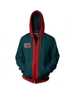 Spider-Man: Into the Spider-Verse Miles Morales Zip Up Hoodie For adult