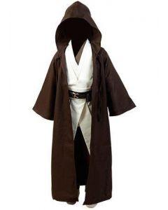 Star Wars Kenobi Jedi Cosplay Costume Child Version