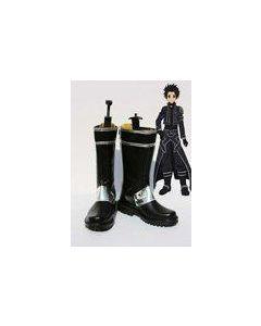 Sword Art Online ALfheim Online Kirito Cosplay Boots Shoes