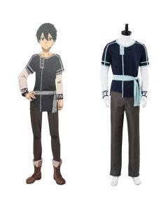 Sword Art Online Alicization Kazuto Kirigaya/Kirito Cosplay Costume