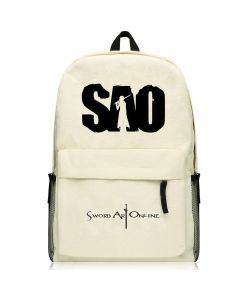 Sword Art Online SAO Kirito Cream Colored Backpack Bag