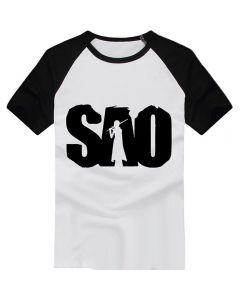Sword Art Online SAO T-shirt Cosplay Costume