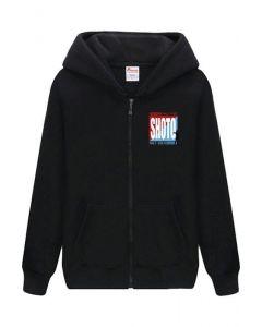 Teen Winter Thick Hoodie My Hero Academia Shoto Fleece Zip Up Sweatshirt Unisex