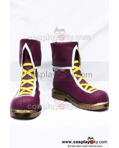 The King of Fighters Athena Asamiya Cosplay Boots Shoes