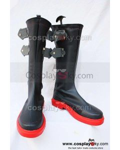 The King of Fighters KOF Ash Crimson Cosplay Boots Shoes