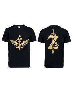 The Legend of Zelda :Breath of the Wild Black Short T-shirt